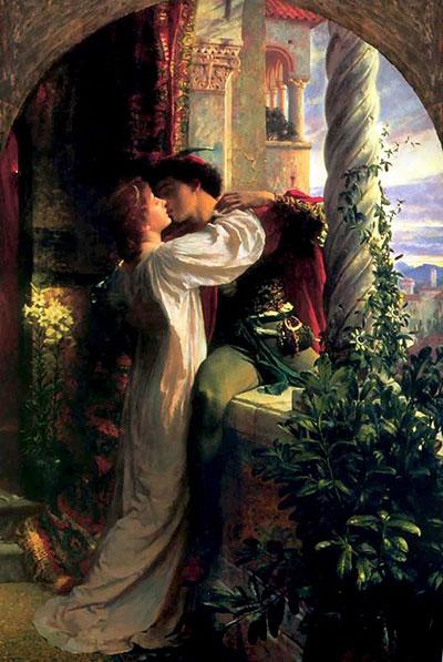 Ромео и Джульетта (Картина Фрэнка Дикси, 1884 год)