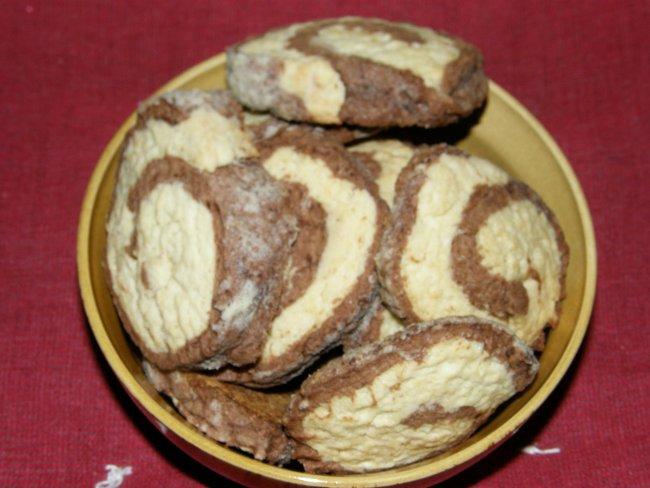 Песочное печенье улитка пошаговый рецепт