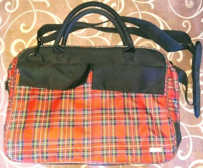 0e05d8a08797 Тканевая сумка-портфель для ноутбука